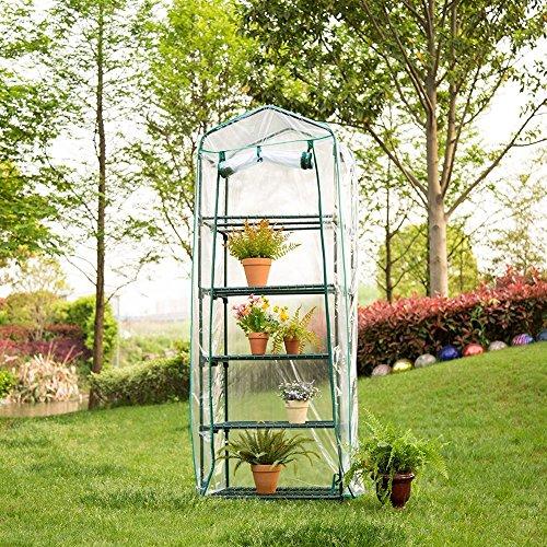 Garten Abdeckung, Warm Wasserdicht Gute Atmungsaktivität Hochwertige PVC Warme Garten Tier Mini...