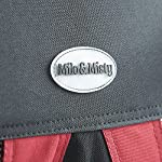 MILO & MISTY Large Fabric Pet Carrier - Lightweight Travel Seat for Dogs, Cats, Puppies - Made of Waterproof Nylon and a… 18