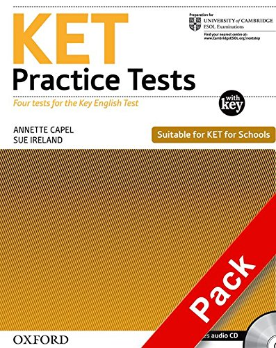 Ket Practice Tests. Practice Tests with Key and Audio