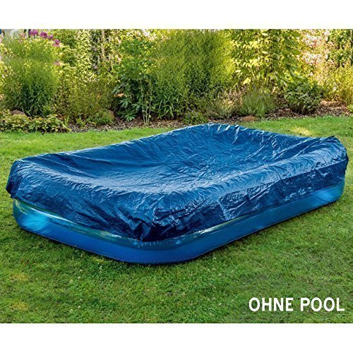 Pool - Abdeckung / Abdeckplane mit Gummizug für den Swimming Pool ca. 265 x 175 cm