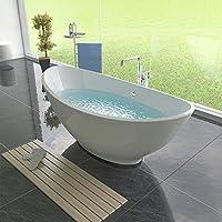 design freistehende badewanne 1750 x 850 x 700 standbadewanne acryl badewanne
