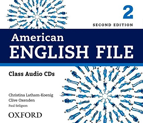 American English File 2nd Edition 2. Class Audio CD (4) (American English File Second Edition) por Clive Oxenden