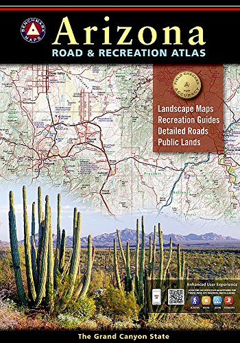 Benchmark Arizona Road & Recreation Atlas: State Recreation Atlases