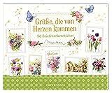 Stickerbuch - Grüße, die von Herzen kommen: 96 Briefmarkensticker -