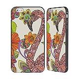 Head Case Designs Ufficiale Valentina Puzzle Fenicottero Uccelli Nero Cover Contorno con Bumper in Alluminio per iPhone 6 Plus/iPhone 6s Plus