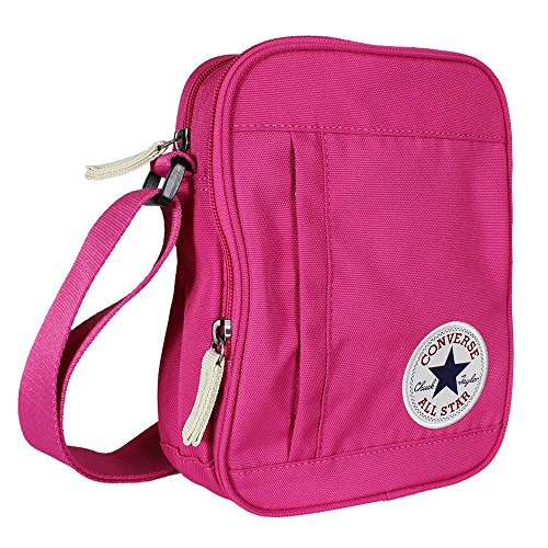 Converse Borsa a tracolla All Star Core, Unisex, Umhängetasche Core Poly Cross Body, Plastic Pink, Unisex Plastic Pink