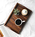 T One Wood Handmade Serving Trays (14 * 9 Inches)