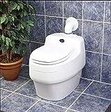 Separett Toilette trocknet an Trenner von Abfall 12V Villa 9010