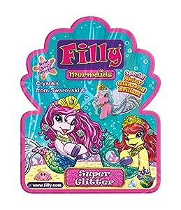 Dracco m063009-Filly Mermaid Super Brillante-de colección Caballos, 1Booster