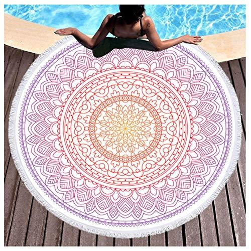 Mandala Runde Badetücher Sommer Geometrische Dicke Badetuch 150 cm Kreis Strand Schwimmen Yoga Matte Vertuschen Serviette De Plage -