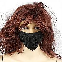 Preisvergleich für Staubmaske mit Mundschutz, für Mann und Frau, nicht beschlagende Maske mit antibakterieller Aktivkohle, Ohrschlaufen...