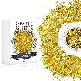 Vari colori Iridescent Cosmetic Glitter Sequin per il corpo del chiodo del viso, brillante trucco Glitter Paillette per il festival di musica Masquerade Halloween Party Ball di Natale - Y7