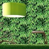 Grandeco - Luxus Amazonia Tapete Grün Wald Dschungel Baumeffekt 817994
