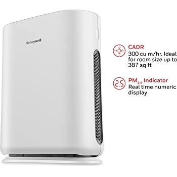 Honeywell Air Touch i8 42-Watt Air Purifier (Classic White)