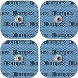 Compex à Electrodes Snap, 5x5, 1 Connection, x4 Fitness Sport Muscles Résistance électrothérapie avec Connecteurs