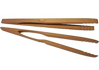 BierEx Profi Grillzange Lang XXL aus Holz