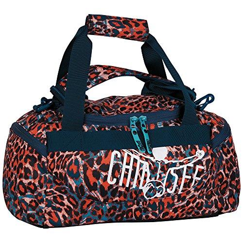 Chiemsee borsa sportiva con meccanismo extra-small Multicolore - Mega Flow Blue