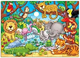 Enlarge toy image: Orchard Toys Whos in the Jungle? -  preschool activity for young kids