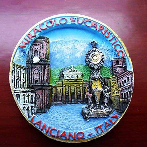 3D, Polyresin, europäischen Italien Tourist Souvenir, Kunstharz Kühlschrank Magnet Creative Home Kitchen Dekoration Werbe Geschenk (Werbe-magnete)