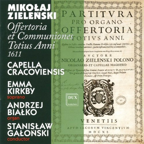 Zielenski : Offertoria et Communiones. Kirkby, Galonski.