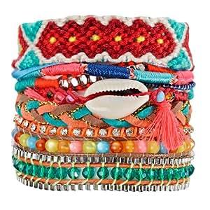 Hipanema - Bracelet brésilien multicolore Ocean - L