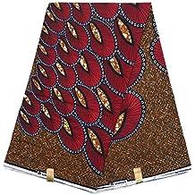 HITARGET WAX Pagne Tissu Africain collection ORIGINAL 6 YARDS Super cire imprimé top qualité 100% pur COTON réf RA
