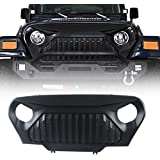 Bosmutus Cargo Cover Pro by Reversible for Top ON//Topless J-eep JK TJ JL YJ JKU Sports//Sahara//Freedom//Rubicon 2 Door//4 Door Unlimited 1985-2018 Models