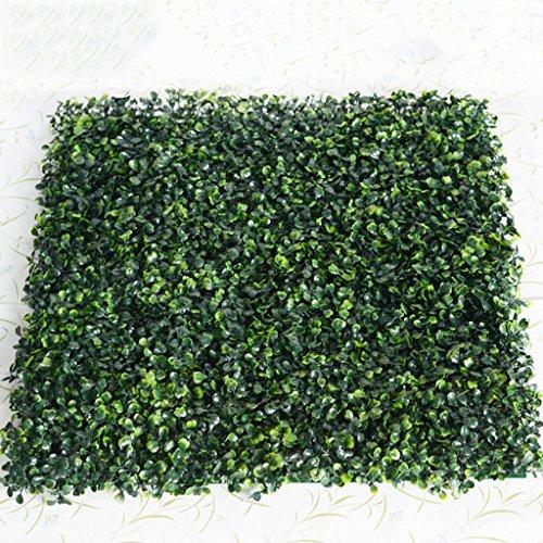 Tappeto erboso artificiale, Tappeto erboso artificiale, Erba sintetica finta per arredo interno/esterno, Decorazione vegetale finto fiore (Color : 3)