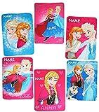 alles-meine.de GmbH Disney -  Frozen - die Eiskönigin  - Kuscheldecke / Fleecedecke / Schmusedecke - incl. Name - 100 cm * 140 cm - Decke aus Fleece - für Mädchen & Jungen - Pr..