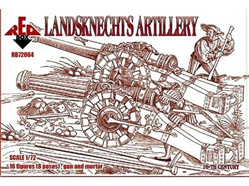 Red Box rb72064 - Figurines País Knechts de artillería, Siglo 16