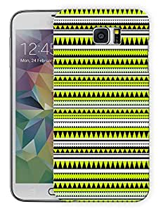 "Humor Gang Green Aztec Ethnic Print Printed Designer Mobile Back Cover For ""Samsung Galaxy Note 5"" (3D, Matte Finish, Premium Quality, Protective Snap On Slim Hard Phone Case, Multi Color)"