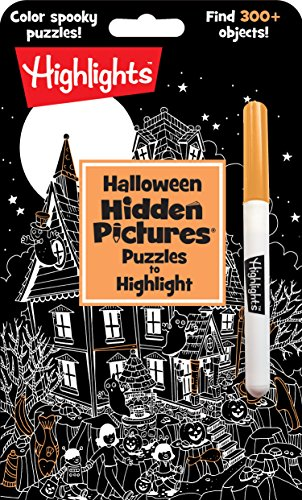 tures® Puzzles to Highlight (Highlights(TM) Hidden Pictures® Puzzles to Highlight Activity Books) (Grad 1 Halloween-spiele)