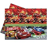 Cars Neon-Plastic Tablecover , Kids Part...