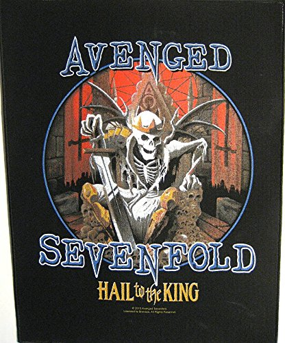 Avenged Sevenfold schiena toppa/Back Patch # 8 Hail to the King