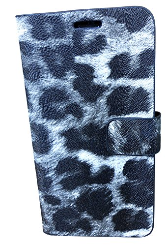 GorillaTouch Universal 5 inches Designer Leopard Printed Fancy Leather FLIP Diary CASE Cover Compatible with Karbonn Titanium S5 Ultra