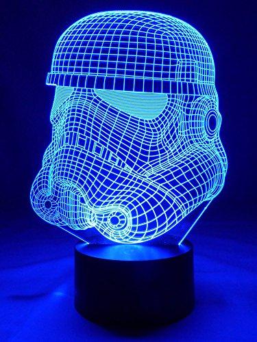 Lampe originale 3D LED Stormtrooper