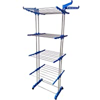 TNC Double Pole - 4 Layer Cloth Drying Stand / Rack