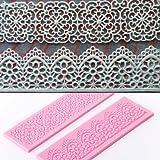 2 forme in silicone per tagliare la plastica/marzapane Nr. 581