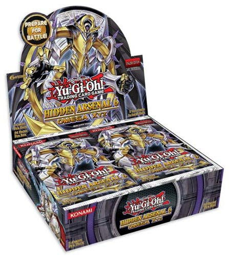 Yu-Gi-Oh! - Hidden Arsenal 6: Omega Xyz - Booster Display (de)