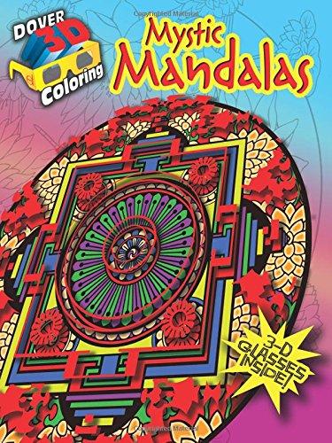Mystic Mandalas (Dover 3-D Coloring Book)
