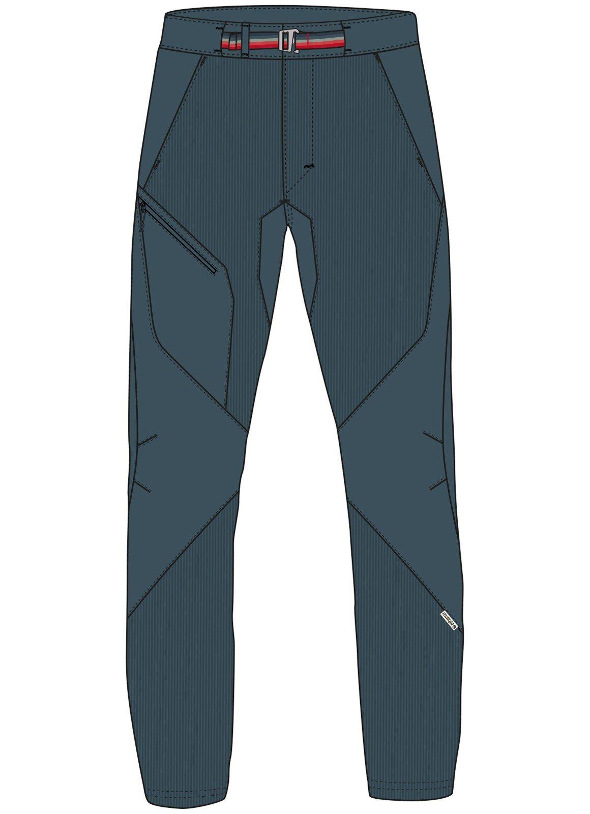Maloja Multi Sport Pantaloni slittamento pantaloni per il tempo libero blu bludenzm. Stretch 24262Â