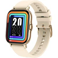 """Bfit Alpha Smart Bluetooth Calling Watch with 1.8"""" Color Full Touch Screen, ECG, SpO2, & Music Control, Continuous Heart…"""