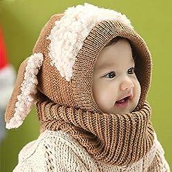 Cuellos con capucha para niñas y niños