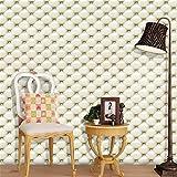 IGEMY 3D Vintage wasserdichte Leder strukturierte Tapete PVC Wandbild Realistisch Look Aufkleber (I)