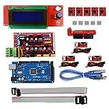 KOOKYE 3D Stampante componente per Arduino RepRap (Ramps 1.4 + Mega2560 + Endstop+ A4988 + 2004LCD) immagine