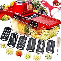 Mandolina cortadora multifuncional,cortador de verduras