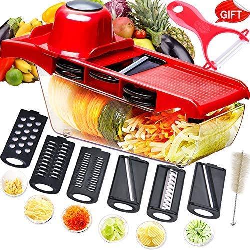 Mandolina cortadora multifuncional,cortador de verduras,trituradora de