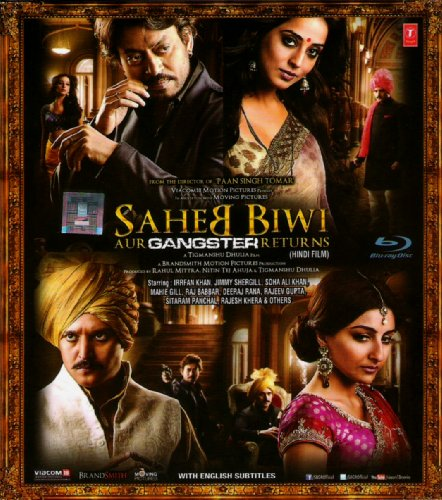 Saheb Biwi Aur Gangster Returns (Hindi Movie / Bollywood Film / Indian Cinema Blu Ray)