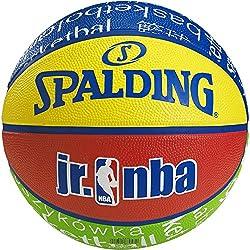 Spalding NBA Outdoor Balón de baloncesto, Unisex niños, Multicolor, 5