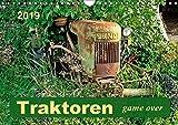 Traktoren - game over (Wandkalender 2019 DIN A4 quer): Traktoren-Oldtimer, ausgedient, aber nicht im ehrenvollen Ruhestand. (Monatskalender, 14 Seiten ) (CALVENDO Technologie)